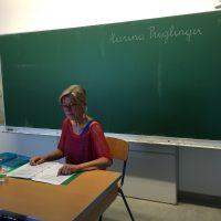 Die Ennser Autorin Frau Marina Priglinger