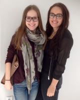 Hannah Handorfer und Zerina Tahic