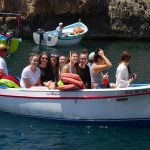 Boat trip into the Blue Grotto