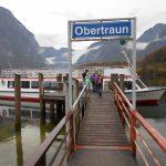 Schifffahrt von Obertraun nach Hallstatt