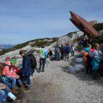 Wanderung zum begehbaren Blech-Haifisch im Dachsteinmassiv
