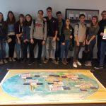 Zuordnen auf der Weltkarte