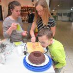 Kuchen essen