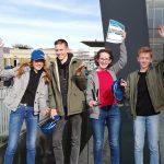 Teilnehmer der Mathe-Mini-Olympiade