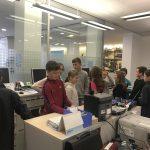 Klassen in der Sparkasse