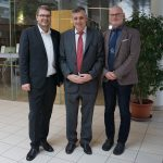 prov. Leiter Mag. Dr. Bernd Langensteiner, HR Mag. Dr. Alfred Klampfer, SQM HR Mag. Günther Vormayr