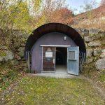 Der heutige Eingang der ehemaligen Stollenanlage Bergkristall